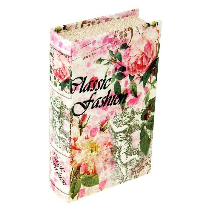 Книга-сейф 'Ангел в цветочном саду' шелк купить