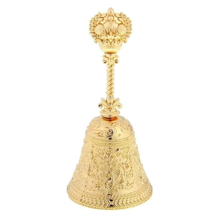 колокольчик сувенир золотой босс купить