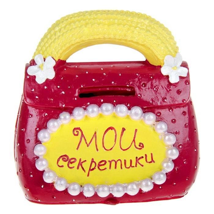Копилка для монет «Мои секретики» купить Минск +375447651009