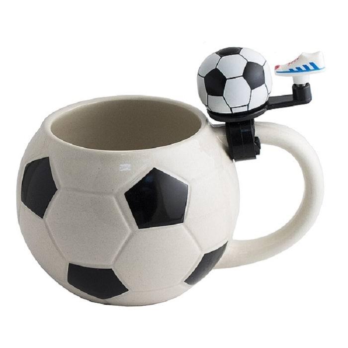 Кружка «Футбольный мяч» со звонком купить в Минске +375447651009