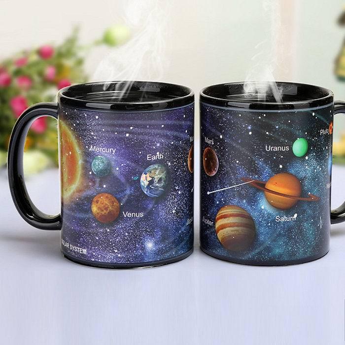 Кружка хамелеон «Галактика» купить Минск +375447651009