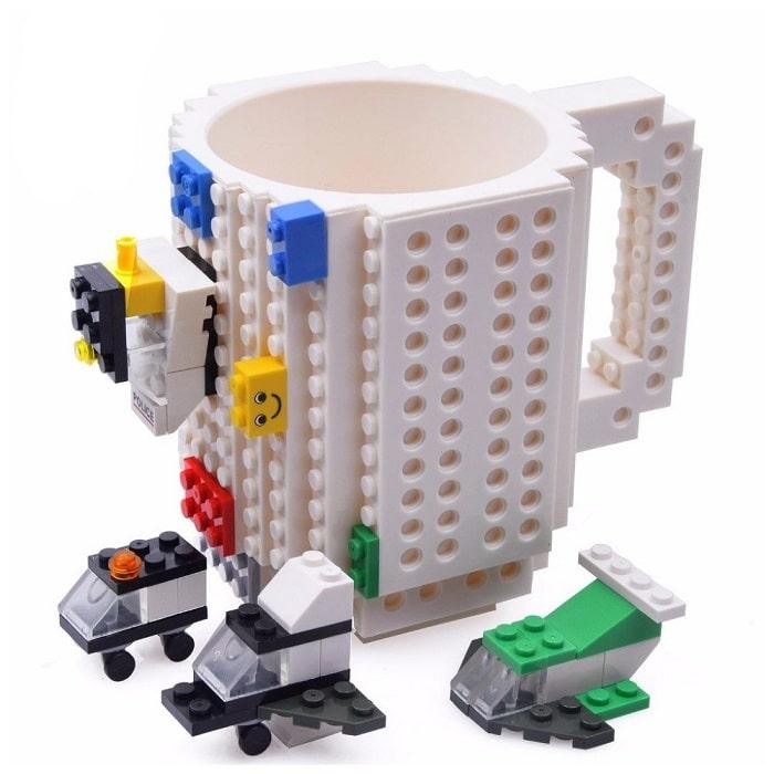 Кружка «LEGO» с конструктором белая Минск +375447651009