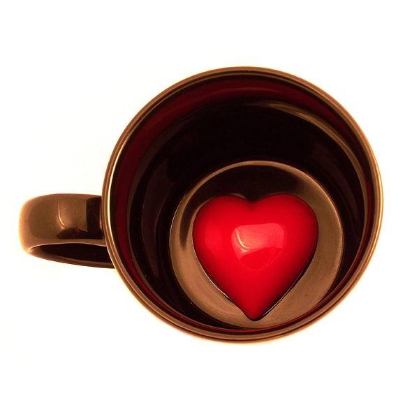 Кружка с Сердцем на дне купить Минск