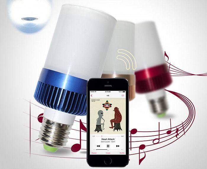 Музыкальная колонка-лампочка (Bluetooth) купить Минск