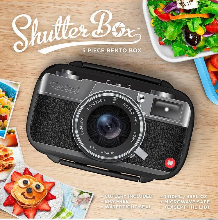 Дизайнерский Ланчбокс 'Camera Lunch'