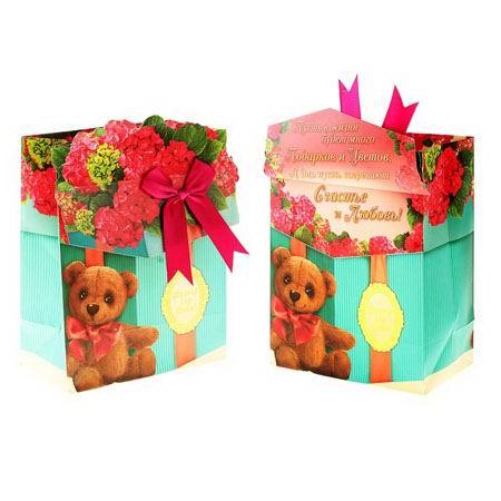 Пакет с открыткой «Подарок» Минск