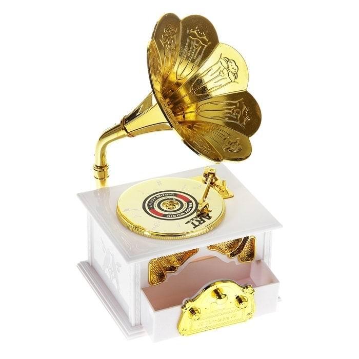музыкальная шкатулка патефон минск