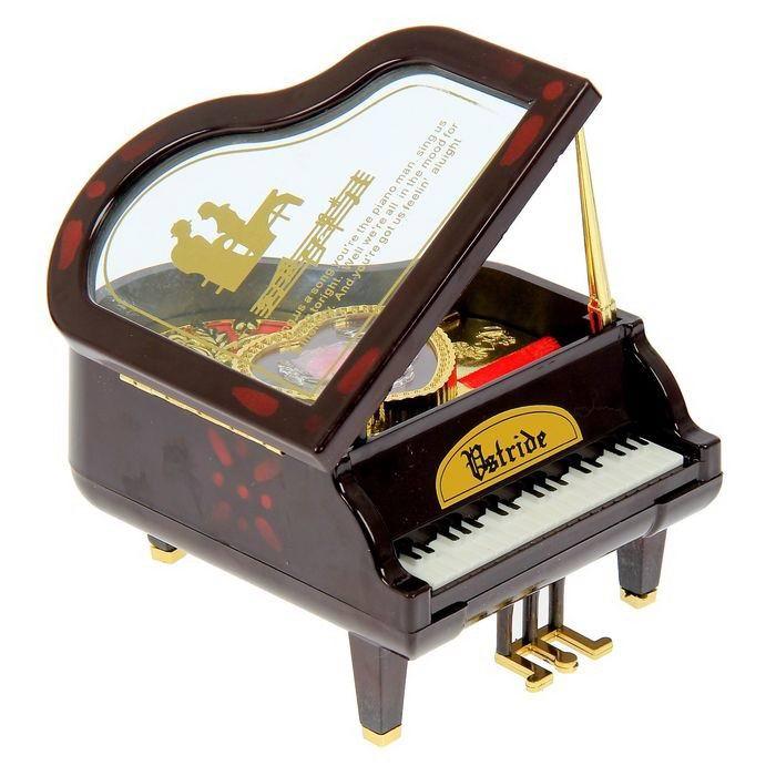 музыкальная шкатулка рояль купить