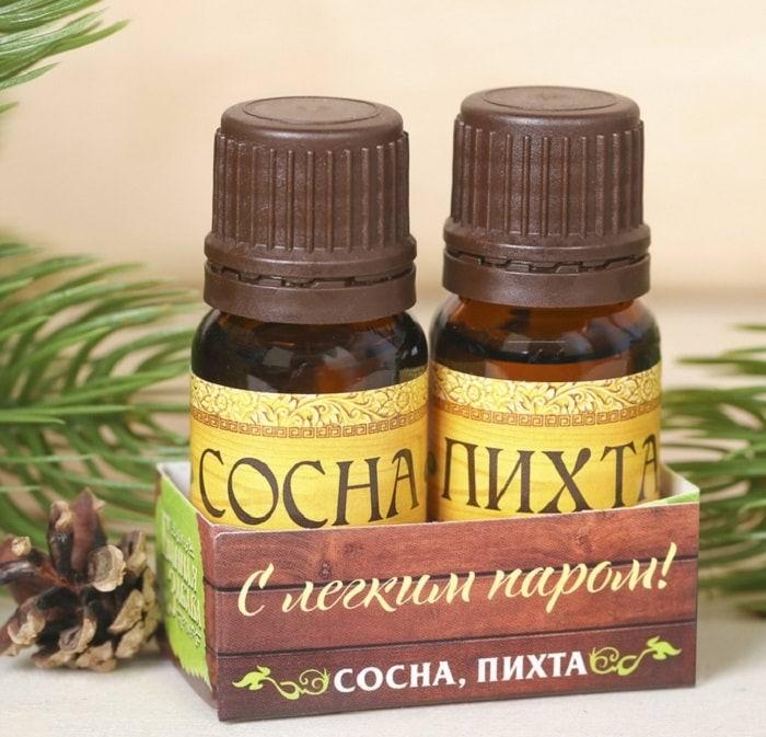 Набор аромамасел «Сосна+пихта» купить