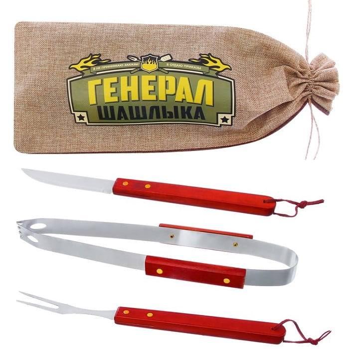 Набор для гриля-барбекю «Генерал шашлыка» с мешочком для хранения купить Минск