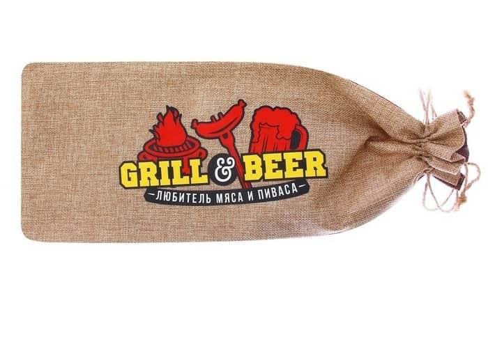 Набор для для гриля-барбекю 'Настоящий любитель мяса и пиваса' купить