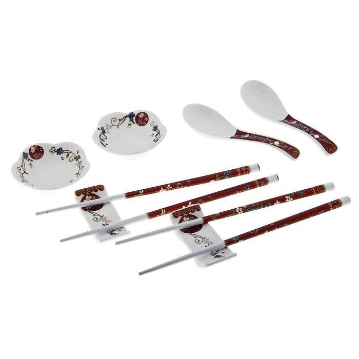 Подарочный набор для суши «Нежные цветы» купить в Минске +375447651009