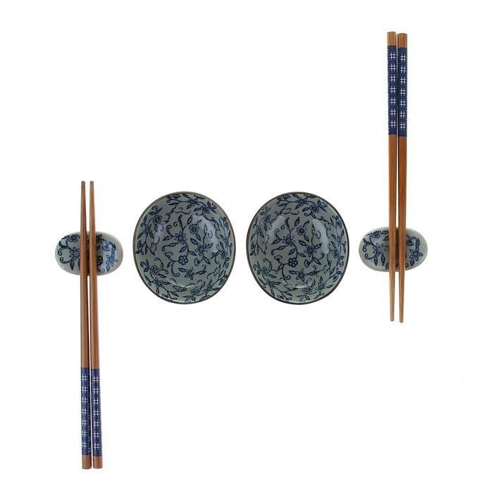 Подарочный набор для суши «Синий узор» Минск +375447651009