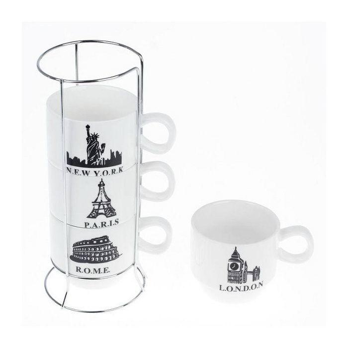 Подарочный набор для чая «Знаменитые столицы» Минск