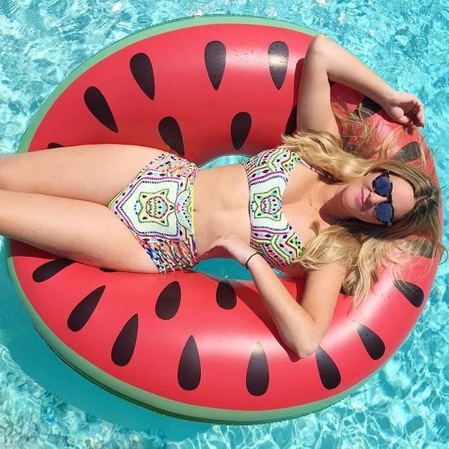 Надувной круг «Арбуз» для бассейна купить в Минске +375447651009