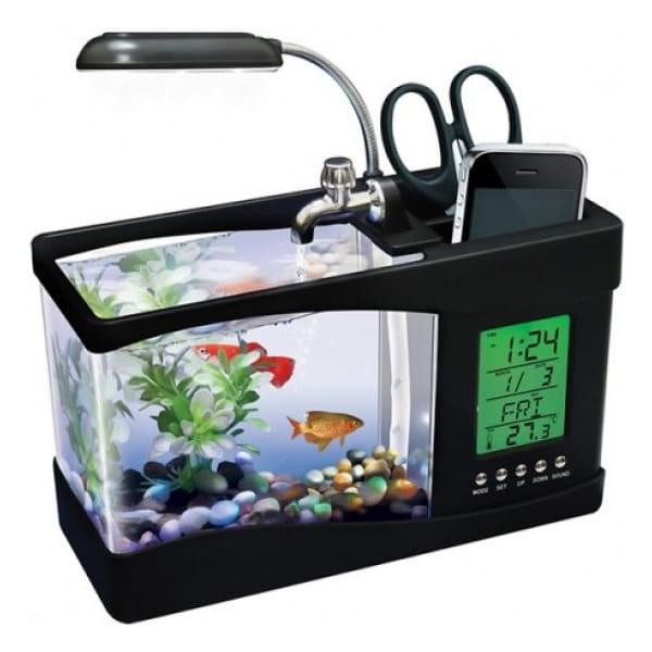 Настольный аквариум мини от USB купить Минск
