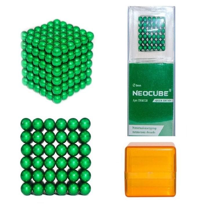 Неокуб, 5 мм, Альфа 216, Зеленый купить