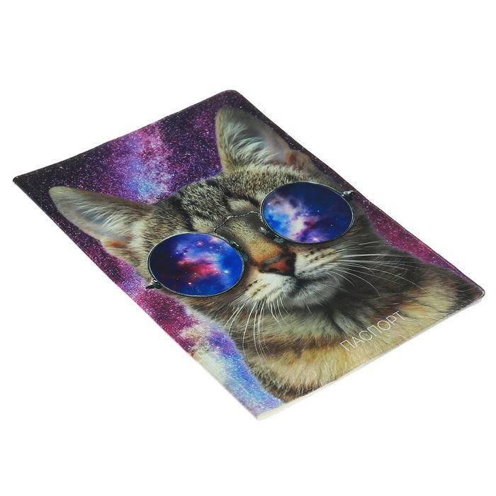 Обложка на паспорт 'Крутой кот' купить