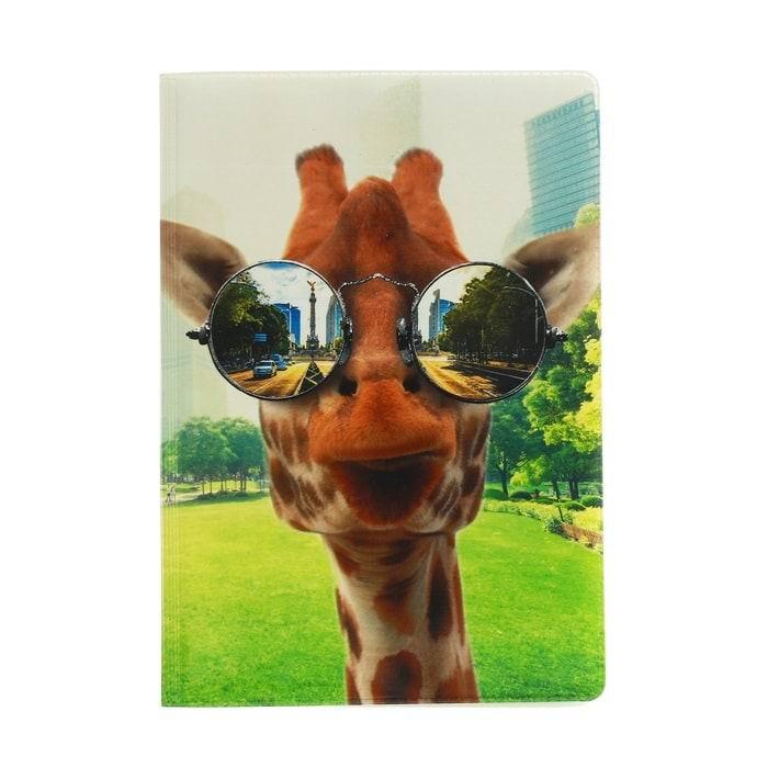 Обложка на паспорт 'Крутой жираф' купить в Минске +375447651009