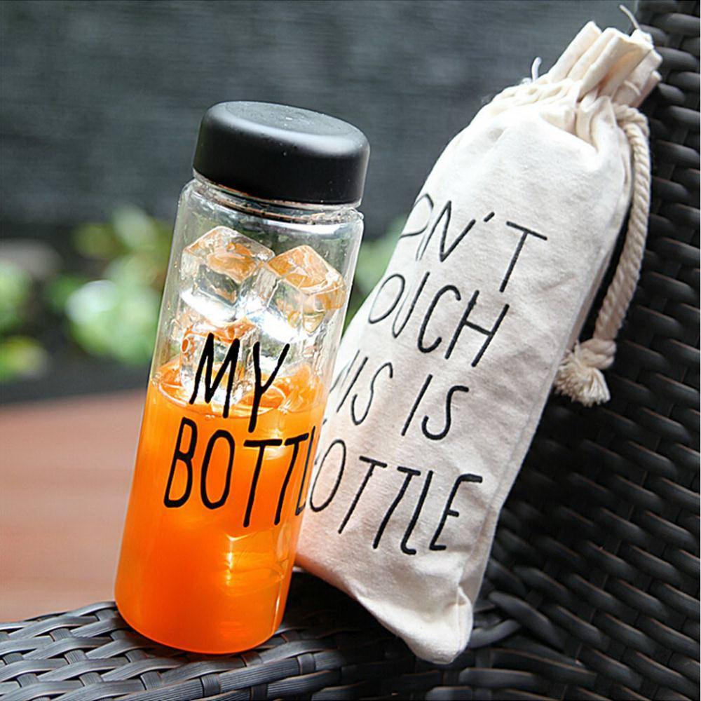 Купить бутылка для воды «My Bottle» с мешочком в Минске