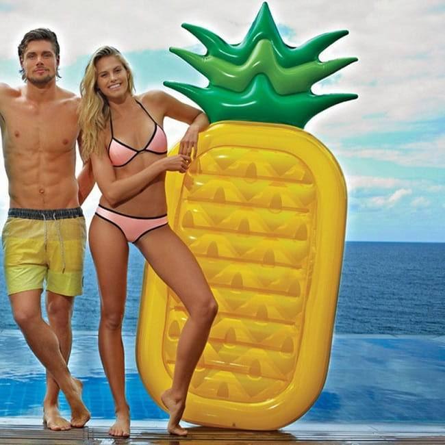 Купить надувной матрас ананас в Минске
