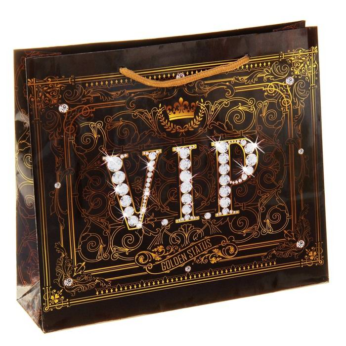 Подарочный пакет «VIP» 9 см × 40 см × 31см Минск +375447651009