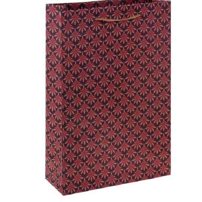 Купить Подарочный пакет «Ажурный орнамент» крафт