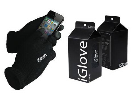 Перчатки для сенсорных экранов «iGlove» черные Минск +375447651009