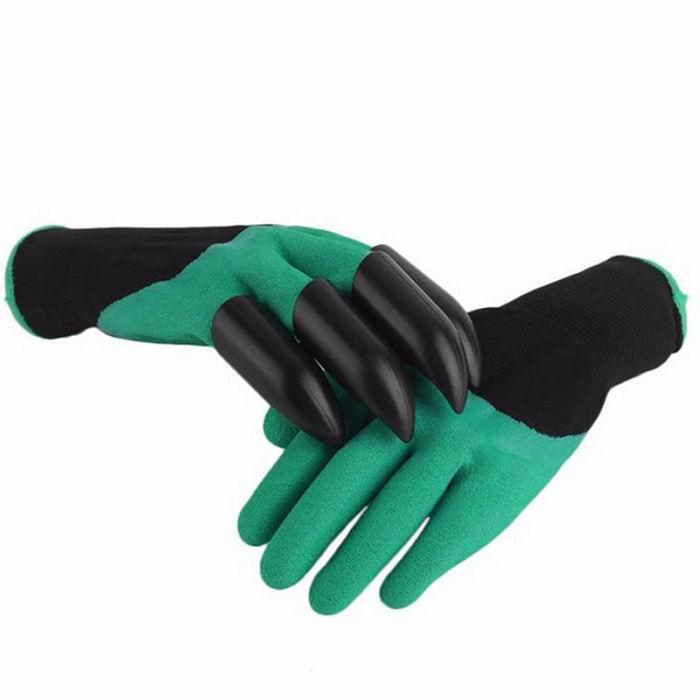 Садовые перчатки с когтями купить Минск