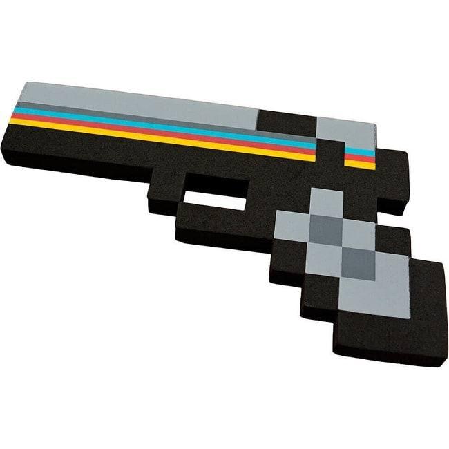 Пиксельный алмазный пистолет Майнкрафт купить