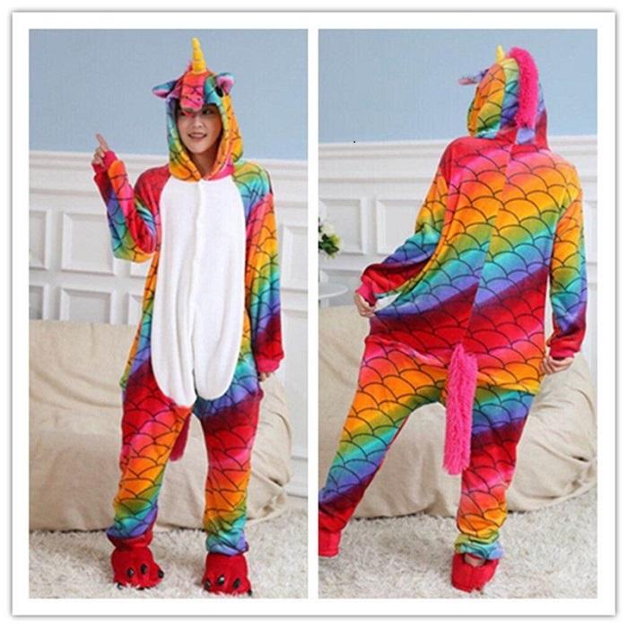 Пижама Кигуруми «Цветной единорог» купить в Минске +375447651009 89b00becf6136
