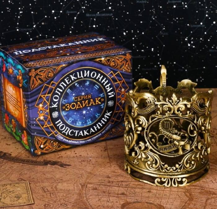 Подстаканник: серия Зодиак 'Скорпион' купить в Минске +375447651009