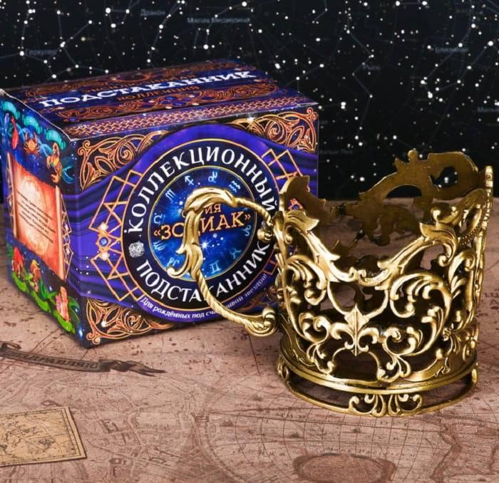 Подстаканник: серия Зодиак 'Весы' купить