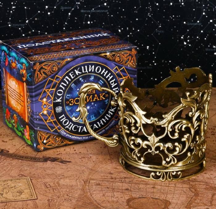 Подстаканник:серия Зодиак 'Водолей' купить