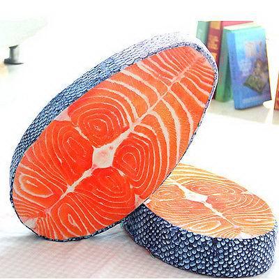 Подушка в виде стейка «А-ля лосось» купить Минск