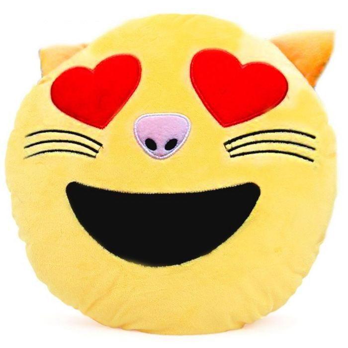 подушка влюбленный котик купить