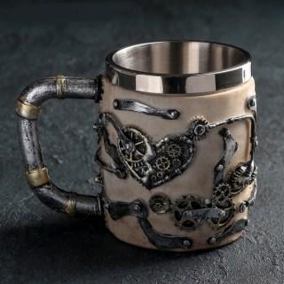 3D кружка «Череп Механик» купить в Минске +375447651009