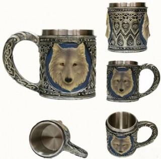 3D кружка «Волк» купить в Минске +375447651009