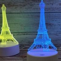 3D светильник «Эйфелева башня» от USB купить в Минске +375447651009