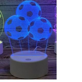 3D светильник «Футбол» от USB купить в Минске +375447651009