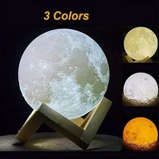 3D светильник «Луна» от USB 10 см купить Минск +375447651009