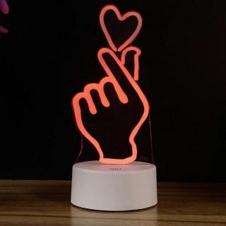 3D светильник «Любовь» от USB купить в Минске +375447651009