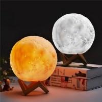 Светильник, ночник 3D Лампа Луна (Шар) купить Минск +375447651009