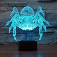3D светильник «Паук» от USB купить в Минске +375447651009