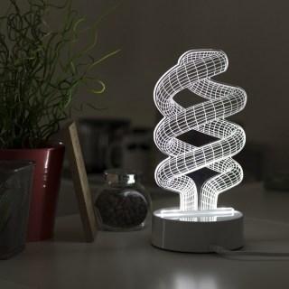 3d светильник 'Спираль' купить в Минске +375447651009