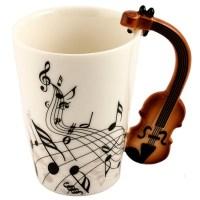 Кружка с ручкой-скрипкой «Мелодия» купить в Минске +375447651009