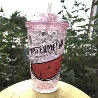 Ледяной стакан «WATERMELON» с трубочкой Минск +375447651009
