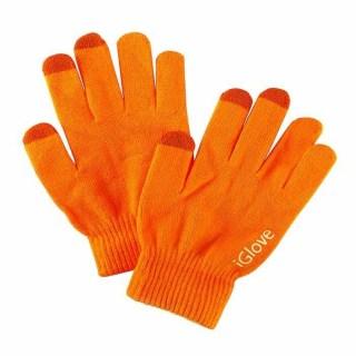 Перчатки для сенсорных устройств Igloves оранжевые Минск