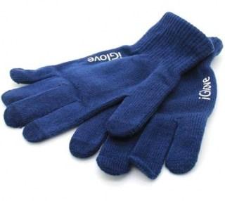 Перчатки для сенсорных устройств Igloves синие Минск