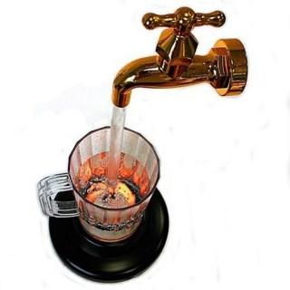 Светильник-фонтан «Кран» купить Минск +375447651009